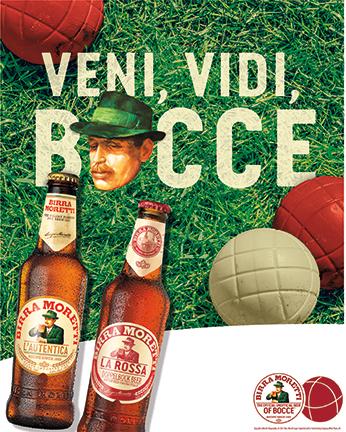 Moretti Bocce Poster